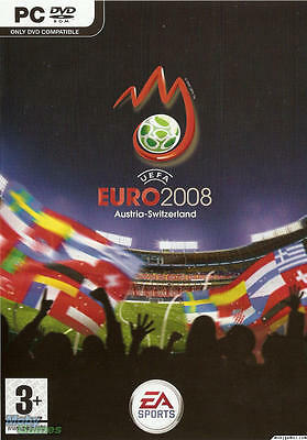 UEFA Euro 2008 (PC DVD Game) NEW & Sealed Austria-Switzerland Football Soccer