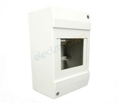 4 Pole Enclosure for Circuit Breakers, RCDs, RCBOs