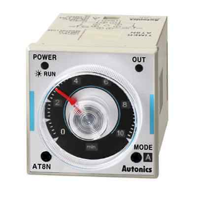FA Industrial Analog Timer Autonics AT8N Power on delay(start),Flicker,Interval