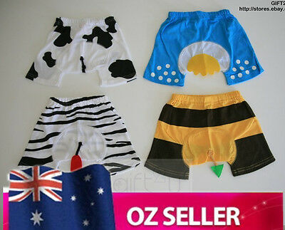 Animal Costume Baby Nappy Pants Covers Shorts for Girls Boys COTTON BRAND NEW