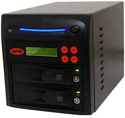 1-1 SATA Hard Disk Drive (HDD/SSD) Duplicator/Sanitizer - High Speed(150MB/sec)