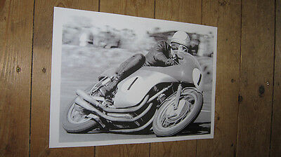 Mike Hailwood Isle of Man TT Great New POSTER