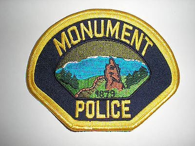 Monument, Colorado Police Department Patch