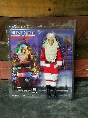 """NECA Silent Night Deadly Night BILLY 8"""" Clothed Action Figure Mint Ships Now"""
