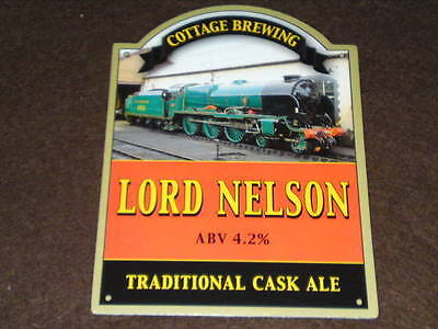 Beer Pump Clip - Lord Nelson #2