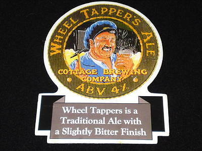 Beer Pump Clip - Wheel Tapper's Ale #2