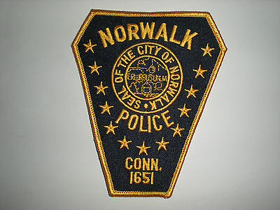 Norwalk, Connecticut Police Department Patch