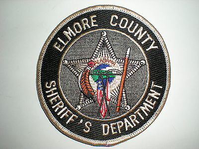 Elmore County, Alabama Sheriff's Department Patch