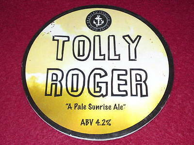 Beer Pump Clip - Tolly Roger #2