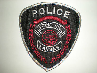Spring Hill, Kansas Police Department Patch