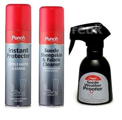 Punch Instant Protector Leather / Suede Sheepskin & Fabric Canvas Cleaner 200Ml