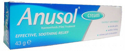 Anusol Haemorrhoids Piles Treatment Cream - 43g