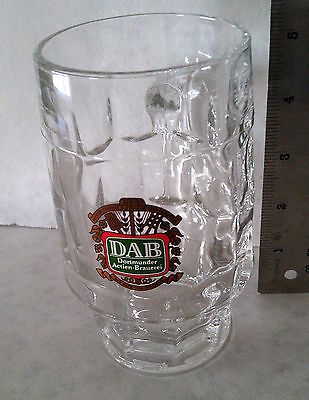 Dortmunder Actien Brauerei Beer Dimpled Mug Collectible Beer Barrel Shape new