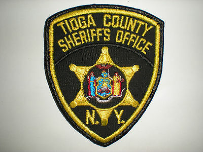 Tioga County, New York Sheriff's Office Patch