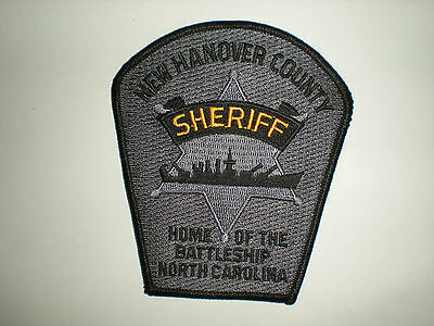 NEW HANOVER COUNTY, NORTH CAROLINA SHERIFF'S OFFICE PATCH