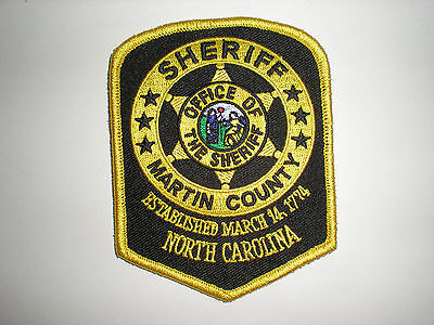Martin County, North Carolina Sheriff's Office Patch