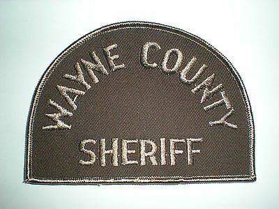 Wayne County, Michigan Sheriff's Department Patch
