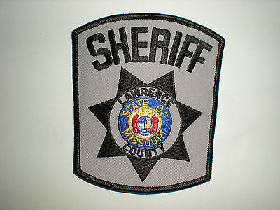 Lawrence County, Missouri Sheriff's Department Patch
