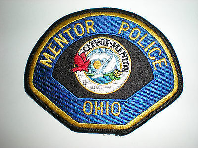 Mentor, Ohio Police Department Patch