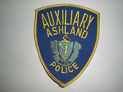 Ashland, Massachusetts Police Department Auxiliary Patch