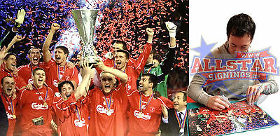 "ROBBIE FOWLER SIGNED LIVERPOOL 2001 UEFA CUP FINAL 16""x12"" PHOTOGRAPH SEE PROOF"