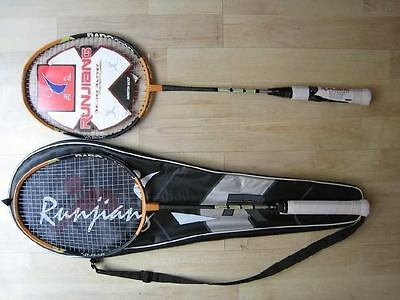 2 X High Quality Carbon Alloy Badminton Racket with Bag