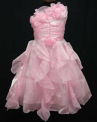 New Pink Flower Girl Pageant Party Dress 18-24 Months