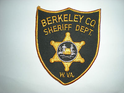 Berkeley County, West Virginia Sheriff's Department Patch
