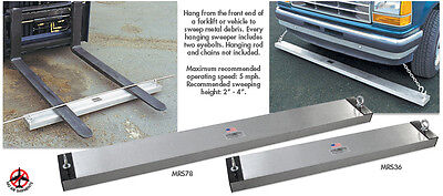 """48"""" Hang-Type Magnetic Sweeper Pick Up Tool Magnet Bar"""