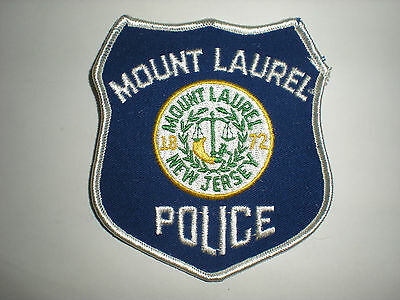 Mount Laurel, New Jersey Police Department Patch