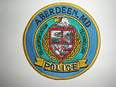Aberdeen, Maryland Police Department Patch - Circle