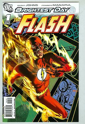The Flash #1 VF/NM June 2010 Variant cover