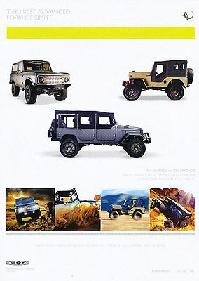 2012 Icon Ford Bronco -  Classic Vintage Advertisement Ad D08