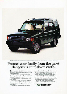 1994 Land Rover Discovery - earth -  Classic Vintage Advertisement Ad D15