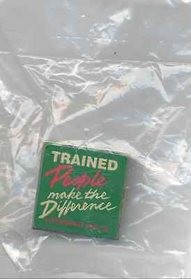 Vintage 1996 John Deere People Make the Difference Expo Cloisonne Button Pin NEW