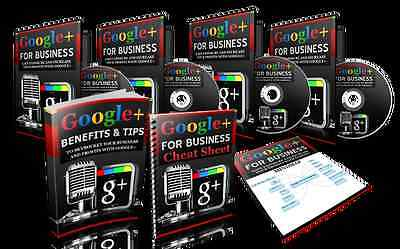 Google+ For Business: 145 Slide Powerpoint Presentation Course & Bonuses on CD