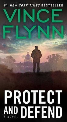 Protect and Defend by Vince Flynn (2008, Paperback) FREE SHIPPING!!!