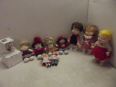 Campbell's Soup Kids Dolls Ornament Lot Collection