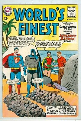 World's Finest #141 G May 1964