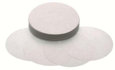 "250 LARGE 10.5cm 4"" QUARTER POUNDER BURGER PRESS WAXED DISCS - FOR BURGER MAKERS"