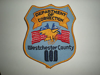 Westchester County, New York Department Of Corrections Patch