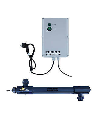PURION 2501 PVC Salzwasser UV-C Poolpflege 14m³/h bis 50.000l Pools