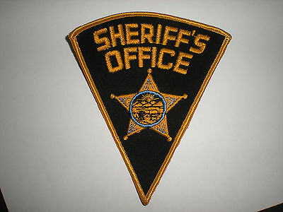 Ohio State Sheriff's Office Patch