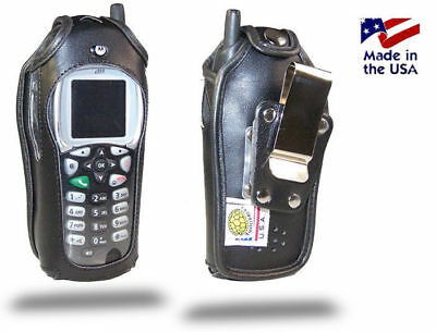 Turtleback Motorola Nextel i355 Fitted Leather Phone Case with Metal Belt Clip