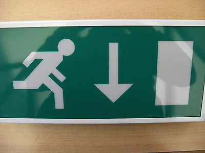 £22.80 Channel Emergency Exit Light, Maintained 3 hour E/LX/M3F