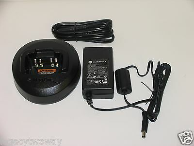 Motorola BPR40 Mag One Single Unit Rapid Rate Charger Kit PMLN5048AR / PMLN5041A