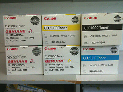 Canon Genuine CLC 1000 Toner (Multi-color)