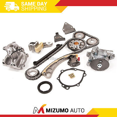 Timing Chain Kit Water Oil Pump Fit 96-03 Chevy Suzuki 1.8 2.0 DOHC J18A J20A