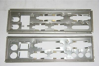 Motherboard I/O Back Plate Cover Case Shield VGA PS2 ..