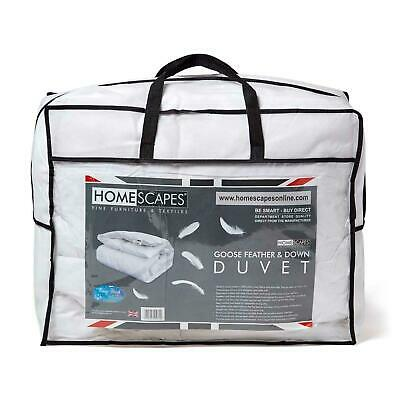 All Seasons Goose Feather and Down Duvet Single Double King Super King Quilts